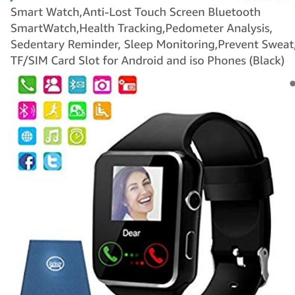 Accessories - Black Smart Watch